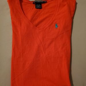 Ralph Lauren sport shirt is size small/P